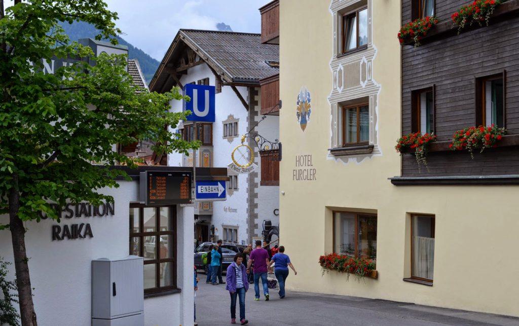 Hotel Furgler in Serfaus
