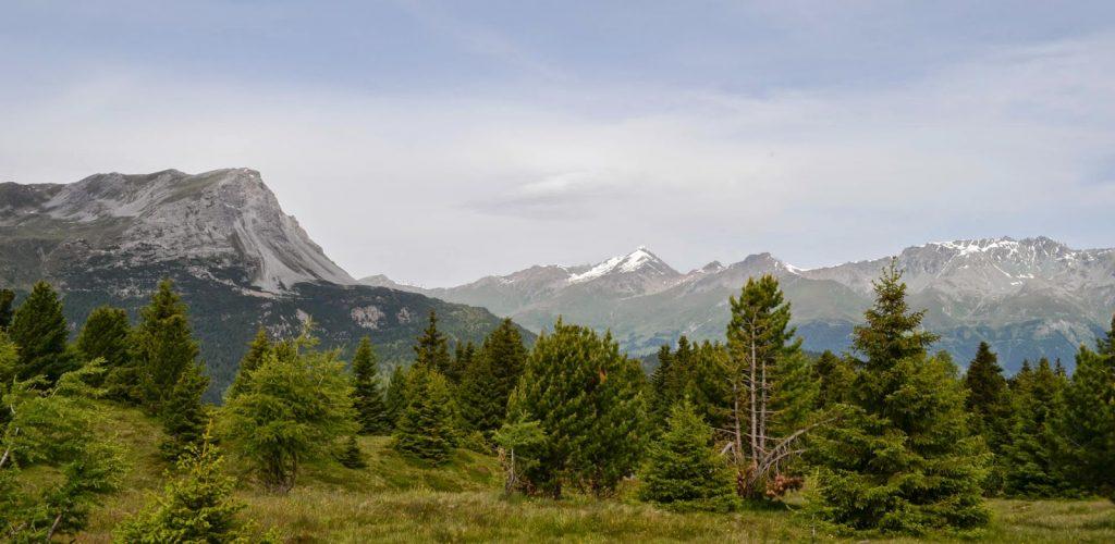 Bergpanorama Reschenpass