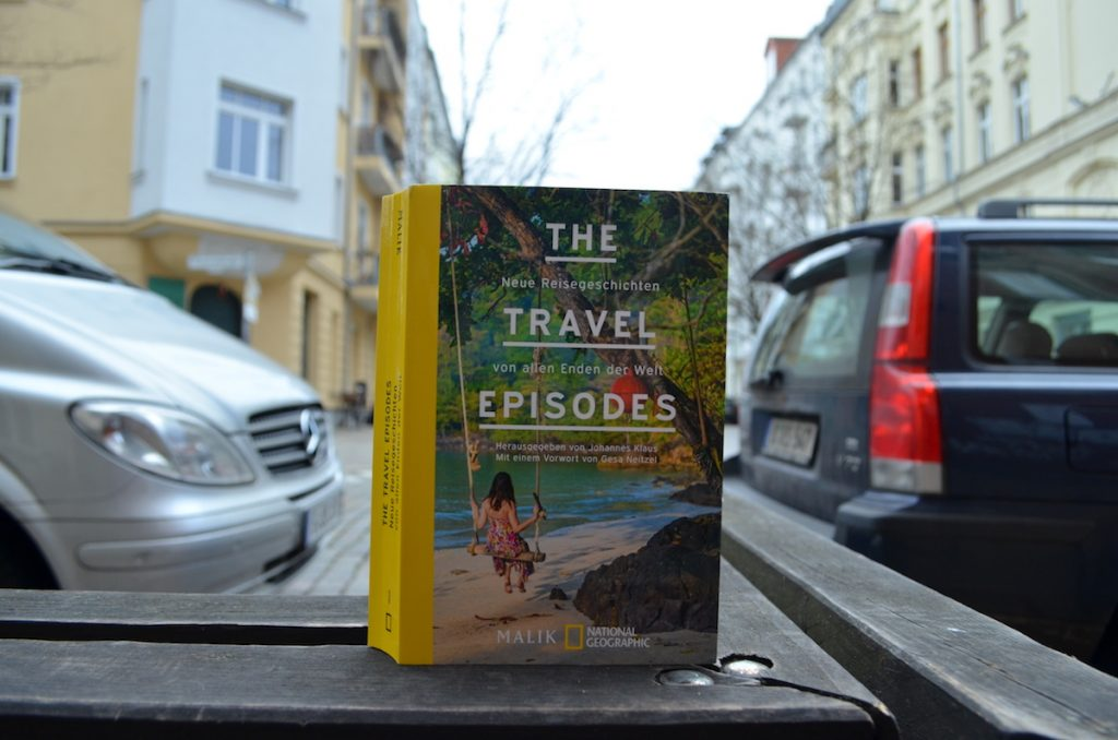 The Travel Episodes Buchcover seitlich