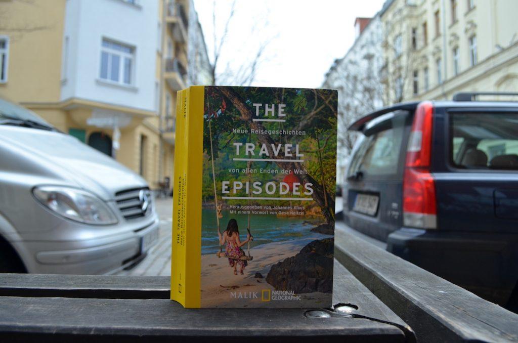 The Travel Episodes Buchcover seitlich